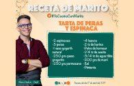 ► TARTA DE ESPINACA Y PERAS