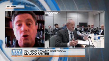 CLAUDIO FANTINI SOBRE CONDENA A LULA