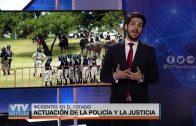 INCIDENTES EN EL ESTADIO CENTENARIO