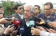 """VÁZQUEZ: """"EL MUNDIAL DE 2030 SIGUE SIENDO UNA INICIATIVA DE URUGUAY Y ARGENTINA"""""""