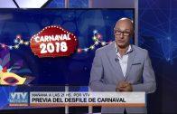 PREVIA DEL DESFILE DE CARNAVAL