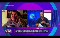 ALFONSINA MALDONADO GANÓ Y CANTÓ EL HIMNO A CAPELA