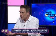 "LEO LORENZO: ""MI PERSONAJE EN BAJO TERAPIA ME COSTÓ MUCHO"""