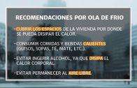Ola de frío: Recomendaciones del Prof. José Serra