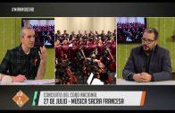 Música sacra francesa – Concierto del Coro Nacional