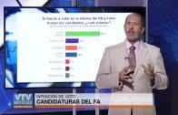 Según la última encuesta de Grupo Radar, Martínez es el favorito en la interna del FA