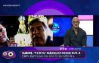 Rusia 2018: Tatita Márquez corresponsal de lujo