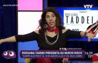 """""""Cuerpo Eléctrico"""" el nuevo trabajo discográfico de Rossana Taddei"""