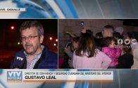 Fuerte operativo en Casavalle para desalojar a personas que habían usurpado viviendas
