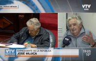Mujica defendió su gestión con los logros de UTE y ANTEL, y evitó una autocrítica por el caso ANCAP