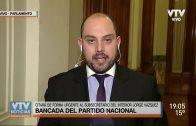 Partido Nacional citará a Jorge Vázquez por contratación de cámaras de identificación facial