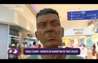 Móvil: La escultura de Alfredo Zitarrosa en Tres Cruces