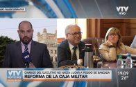 Bancada del FA se reúne mañana para aprobar de manera definitiva la reforma de la caja militar