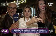 """Pizzería """"De Madrid"""" cumplió su primer década"""