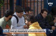 Un grupo de trabajadores bloquearon ingreso a la terminal Tres Cruces