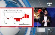 La actividad industrial cayó un 4% en el último trimestre