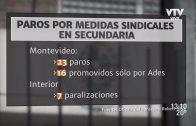 Liceos de Montevideo: 23 días de clases perdidos en 2018