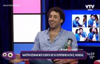 """Martín Kesman: """"Estoy en la mejor etapa de mi vida"""""""