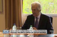 Tabaré Vázquez mantuvo dos reuniones con actores vinculados a la economía nacional