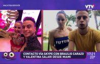 Braulio y Valentina: ¿En qué te agarro?