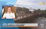 Carmelo: Puente fue embestido por tres barcos debido a las intensas lluvias
