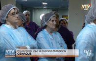 Centro Nacional de Quemados inauguró sala de cuidados moderados