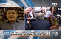 De León pidió licencia luego de conocerse el fallo del tribunal de conducta política del FA