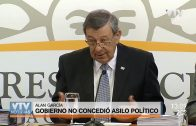 Gobierno no concedió asilo político al expresidente peruano Alan García