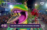 Una conversa llena de samba