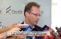 """Fiscal Pacheco catalogó al nuevo CPP como """"poco transparente"""""""