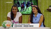 Madre e hija compartiendo la pasión por el rugby