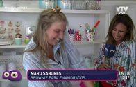 Maru Sabores nos muestra cómo hacer el brownie de los enamorados