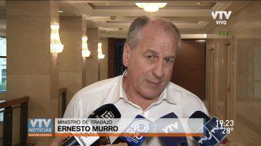 Murro se refirió a la situación de los trabajadores de varias empresas que están con problemas