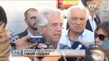 """Tabaré Vázquez: """"UPM se va a instalar"""""""