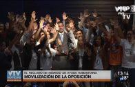 Venezuela: Oposición se moviliza en reclamo del ingreso de la ayuda humanitaria