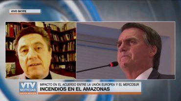 Claudio Fantini: «El mundo tiene que exigirle a Bolsonaro que deje de actuar como un inepto»