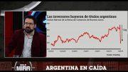 La caída en el mercado accionario en Argentina
